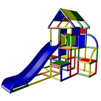 Moveandstic Laura - Big Play Tower with Roof and Slide