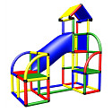 Moveandstic Felix - Climbing Tower with Crawl-Tube and exit