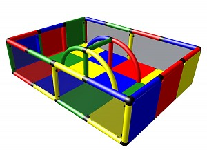 Moveandstic Justin - Baby Play Gate