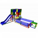Moveandstic Maja - Climbing Tower with Slide and Pool