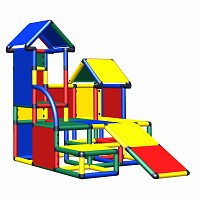 Moveandstic Luise - play tower with toddler slide