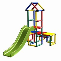 Moveandstic sliding tower Alibaba colorful