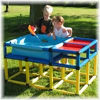 Moveandstic Wasserspieltisch Modell 1 125x85x65cm