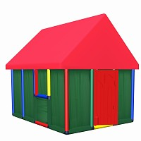 Moveandstic Playhouse Family 165x144x152cm
