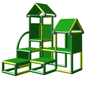 Moveandstic Anton climbing tower for toddlers