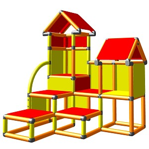 Moveandstic David - Climbing Tower for Toddlers