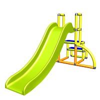 my first Slide Alma My first slide yellow orange apple green baby slide with entry set Easy garden slide MAS children's slide