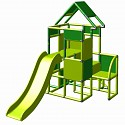 Moveandstic Lisa-big tower with slide apple-green-green