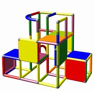 Moveandstic construction kit Profi multicolor
