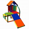 Moveandstic Mila - my little house with slope multi colored
