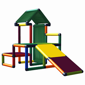 Moveandstic my first play house multi-colored