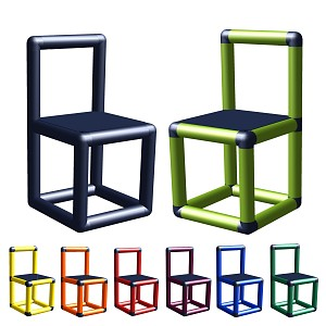 Moveandstic Finja - chair - child chair for seating group