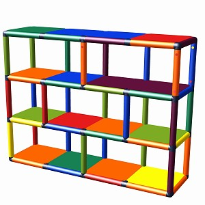 Moveandstic toy shelf Biona