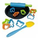 Baking set No. 1 - 13 pieces with baking sheet, cookie cutters, rolling pin and spatula