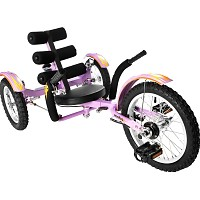 MOBO Mobito 3 Wheel Cruiser lila