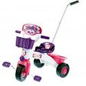 Dreirad mit Schubstange pink für Kinder ab 1 Jahr