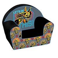 Kindersessel Transformers Sessel mit Schaumstoffkern