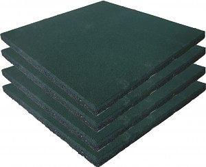 Safety Mat Green - Set of 4 -