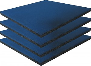 Safety Mat Blue - Set of 4 -