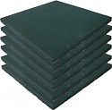 Safety Mat Green - Set of 6 -