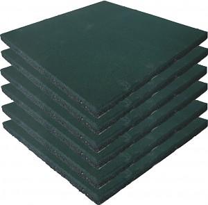 Safety Mat Green - Set of 6 -