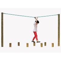 Kletterpfad-Element Seil für Hangelgerüst, 3m lang
