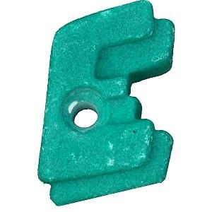 Climbing stone - letter E.