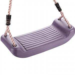 Schaukelsitz Kunststoff flieder / violett / purple