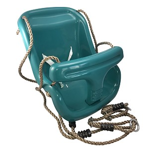 Baby swing 2 in 1 Children's swing Swing seat made of plastic for play tower