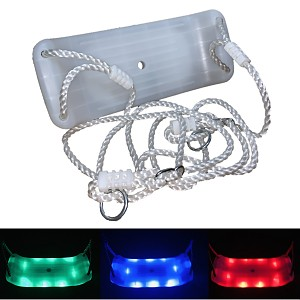 Swing seat with LED effects