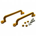 Plastic handles handles set of 2 - XXL 320mm - yellow