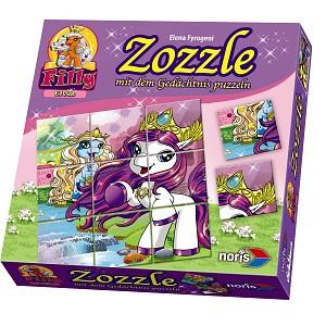 Noris Zoch-Filly Elves Zozzle Motiv 1 Gedächtnis Puzzle Sammelfiguren