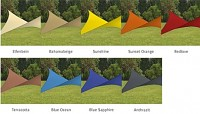 Sailcloth Colour Availability