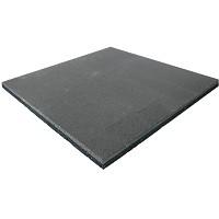Fall protection mat rubber mat grey 25 mm