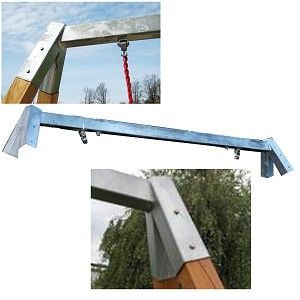 Steel Ridgepole for Bird`s Nest Swing Frames