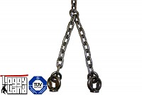 Stainless steel chain 5mm 1.8 m length with fastening eyes. Swing chain swing accessories
