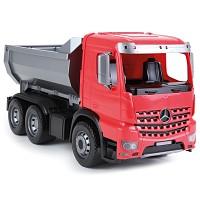 Lena 04600 Worxx Muldenkipper Modell Arocs Fahrzeug Rot/Silber/Schwarz 45 cm