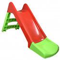 Slide 120 cm red / green