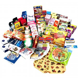 Pretend Play Grocery Store Accessories 120 pcs