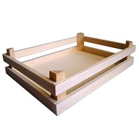 Tanner - wooden box empty fruit box
