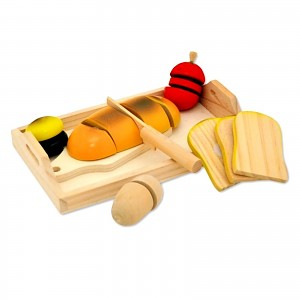 Pretend Play Wooden Breakfast Set