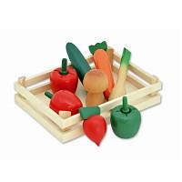 Tanner - Holzgemüsesteige Gemüsekiste Kaufladen Kaufmannsladen Zubehör Holzspielze