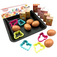 Dr. Oetker cookies baking range Baking tray and eggs