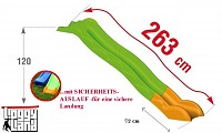 Wave Slide 2,63m