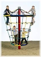 Rotating Cone Climber