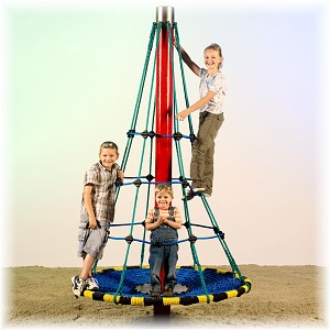 "Rotating Cone Climber ""Bieberkopf"" with Relax Area"