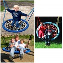 Nest swing stork nest swing seat Ø 120 cm