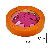 Maze elephant ball game puzzle mini ball game skill game