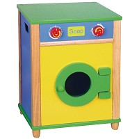 kitchen wood toy washing machine