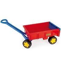 Wader - handcart red / yellow / blue